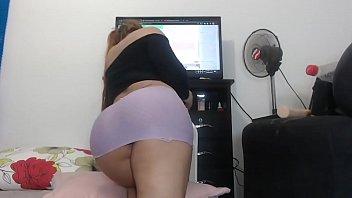 Horny Latina Tgirl Webcam Sex Show