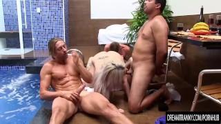 Horny Tranny Pornstar Carol Penelope Bareback Banging