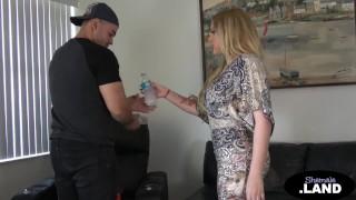 Big Boobs Blonde Tgirl Hottie Anal Sex By BF