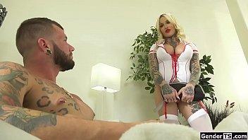 Sexy Tranny Pornstar Nurse Nadia Ass Fucked By Patient